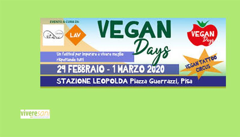 VEGAN DAYS FESTIVAL 2020