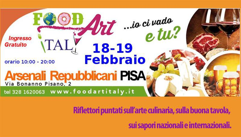 FOOD ART ITALY  Fiera Eno-Gastronomica