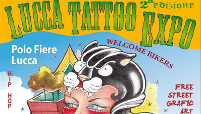 LUCCA TATTOO EXPO 2015